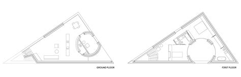 triangular house floor plans triangular houses plans house and home design