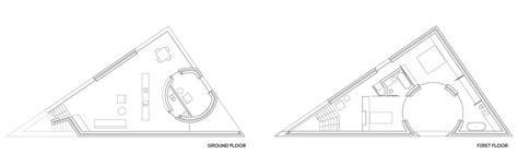 triangular floor plan triangular houses plans house and home design