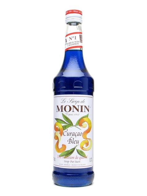 Blue Sky Syrup Davinci monin blue curacao syrup the whisky exchange