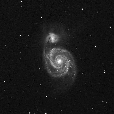 galaxy white wonderful whirlpool galaxy m51 black and white sky