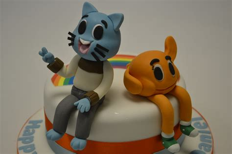 model  gumball  darwin  tv show celebration cakes cakeology