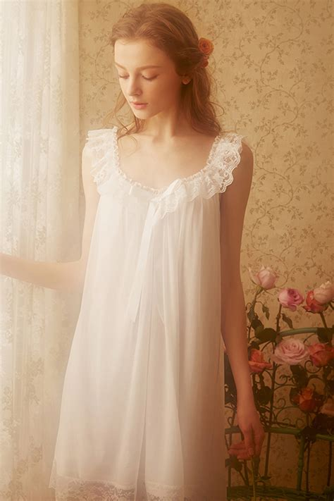 Vintage White by White Lace Vintage Cotton Nightgown