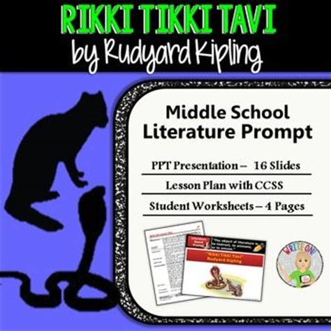 Rikki Tikki Tavi Response To Literature Essay by 32 Best Images About Rikki Tiki Tavi On Open Book Writing Activities And Rudyard