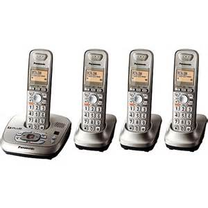 walmart home phones with answering machine panasonic dect 6 0 phone system kx tg4024n walmart