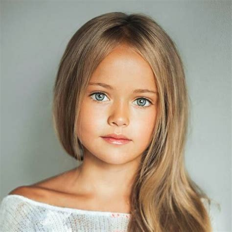 beautiful little girl model faces most beautiful little girl old kristina pimenova is
