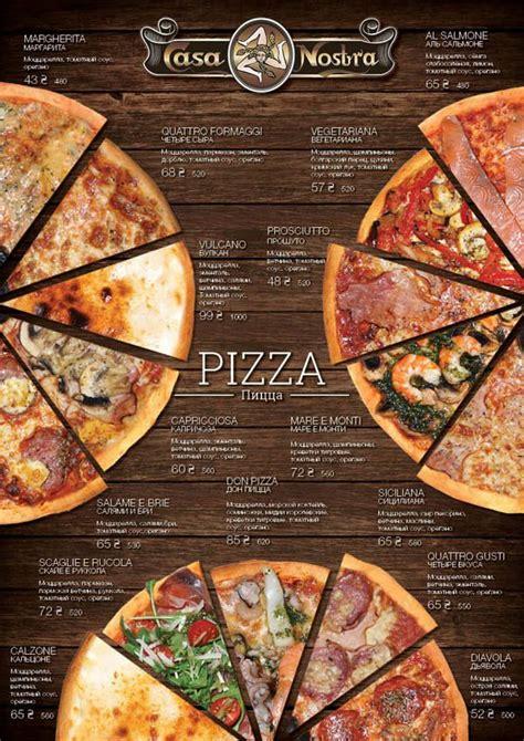 best pizza menu best 25 pizza menu design ideas on pizza menu