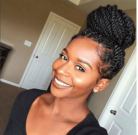 black hairstyles photo long in back twist in front best 25 crochet senegalese twist ideas on pinterest