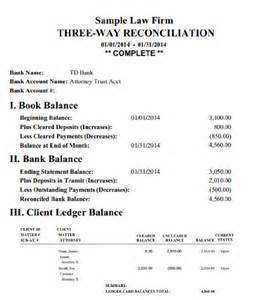 Trust Account Reconciliation Template by Bank Statement Template Software Bestsellerbookdb