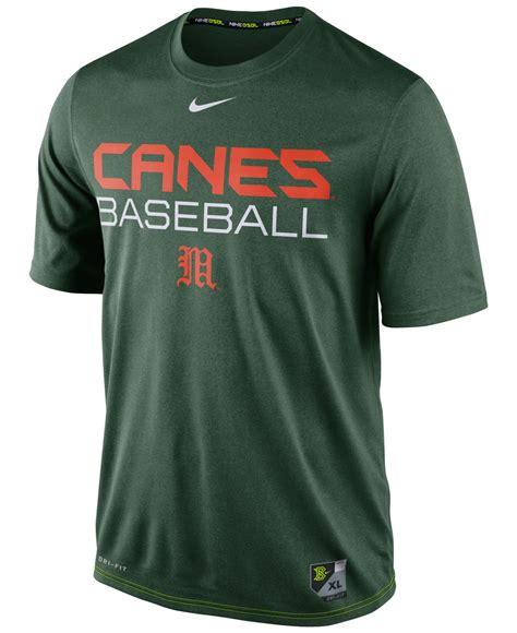 Mens Nike Legend Ncaa All Team Colour Dri Fit Size 2xl lyst nike s miami hurricanes baseball legend dri fit