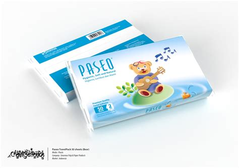 tissue paseo travelpack 50 sheets by chaeradipura on