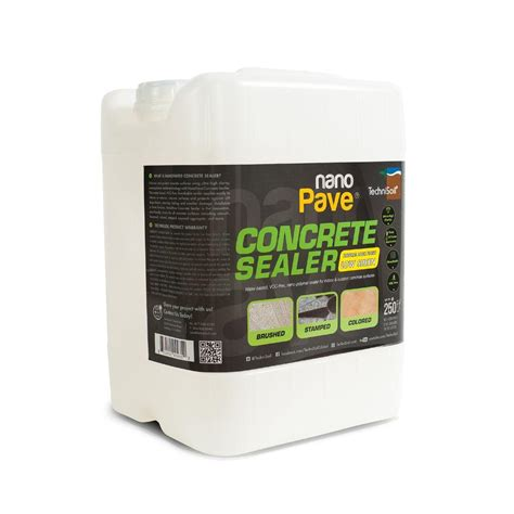 piano ls home depot technisoil nanopave 5 gal low sheen concrete sealer cs ls