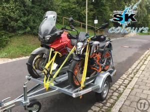 Motorradtransporter Mieten by Motorradanh 228 Nger Mieten Rentinorio