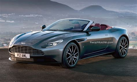 this aston martin db11 volante rendering looks just about