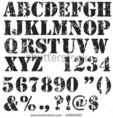 stencil lettere alfabeto da stare stencil stock images royalty free images vectors