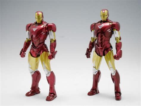 Bandai Shf Iron 2 6 Mk Vi sh figuarts iron 6 images compare new vs