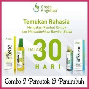 Paket Combo 3 Green Perawatan Rambut Perawatan Rambut Rontok jual beli paket combo 2 green angeleica penipisan rambut