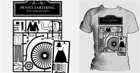 design by humans submission kit score penny farthing model kit by philgraydesign on threadless