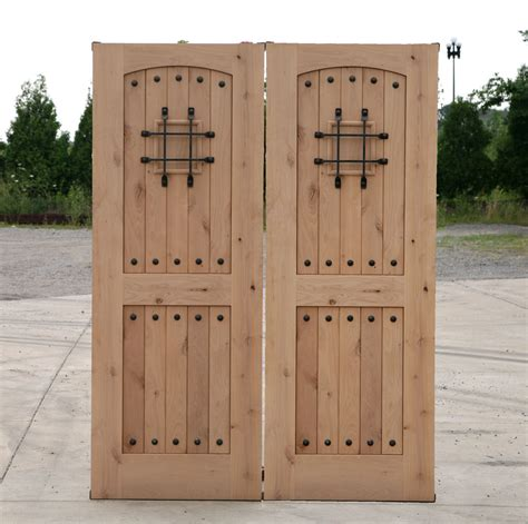 rustic doors closeout sale exterior alder wood door