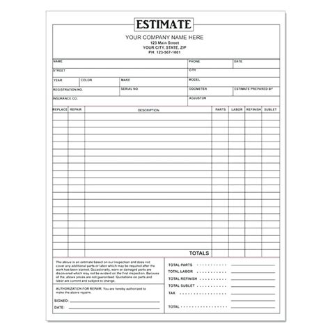 tire shop receipt template auto shop receipt auto repair receipt forms stervantes club