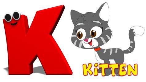 P U M A phonics letter k song alphabets songs for children