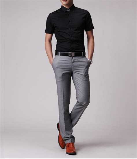 what color goes with gray pants what color shirts go with grey pants men s shirts styles