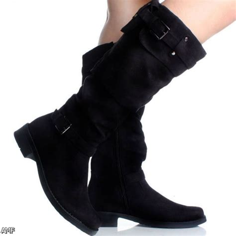 black winter boots for 2015 2016 fashion trends
