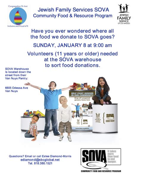 Sova Food Pantry by Sova Food Pantry Volunteers Needed