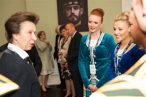 tattoo office edinburgh opening hours princess anne opens edinburgh military tattoo offices