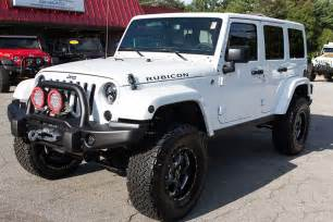 2015 Jeep Rubicon Unlimited 2015 Jeep Wrangler Rubicon Unlimited White Hemi Conversion
