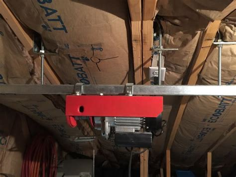 Garage Storage Lift Diy Best 25 Attic Lift Ideas On Garage Hoist