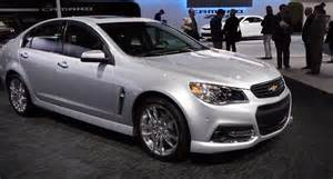 2014 chevy ss sedan info specs price pictures wiki