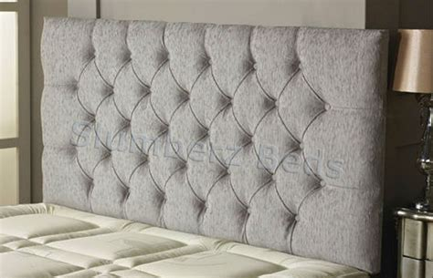 large grey headboard carlton chenille headboard