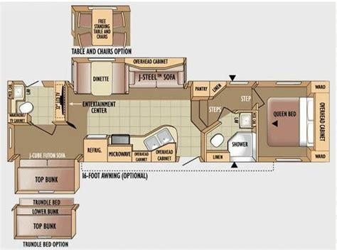 Jayco Eagle 5th Wheel Floor Plans by 5th Wheel Rv 2 Bathrooms Floor Plans Jayco Eagle 30