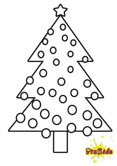 weihnachtsbaum zum ausmalen ausmalbild christbaum kostenlose malvorlage
