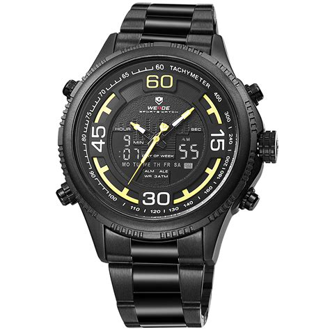 weide wh6306b 3c 12 month guarantee brand name watches