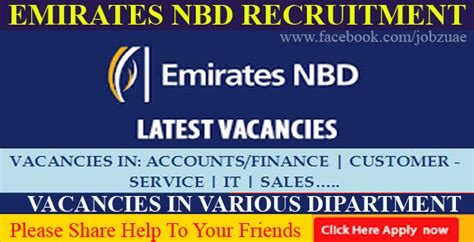 emirates career emirates nbd careers banking careers job listing