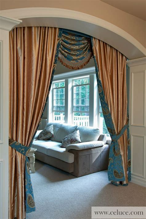 blue swag curtains 258 best images about window treatments swag valance