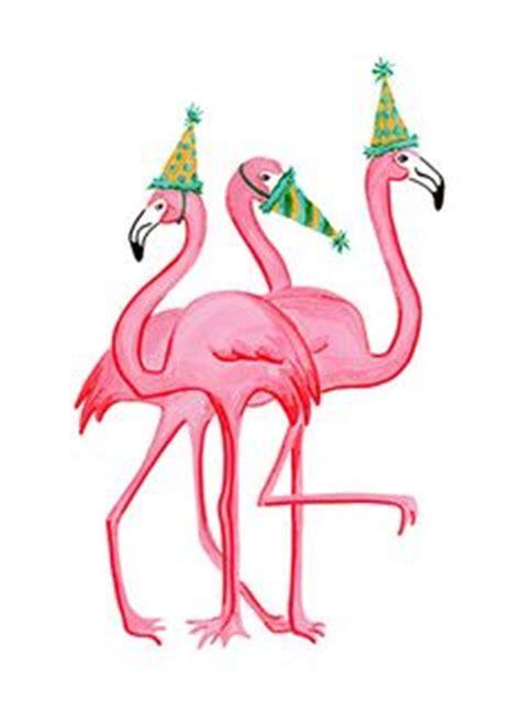 Happy Birthday Pink Flamingo Beautiful Birthday Greeting Card Pink Flamingo Rosie Rosalie