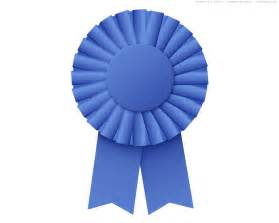 1st Prize Ribbon Template by Blue Ribbon Rosette Psd Psdgraphics