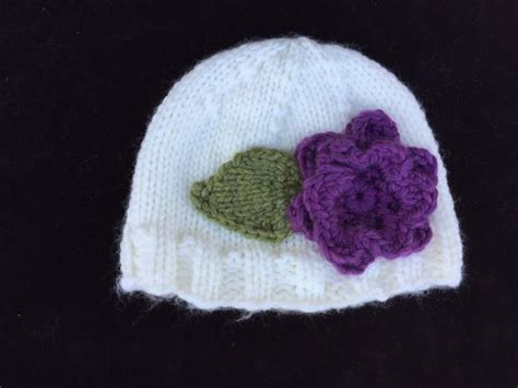 pattern for knitted flower for hat bulky knit flower hat knitting patterns and crochet