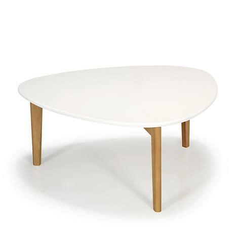 Table De Salon Scandinave by Table Basse Vintage Scandinave Blanche 80cm Siwa