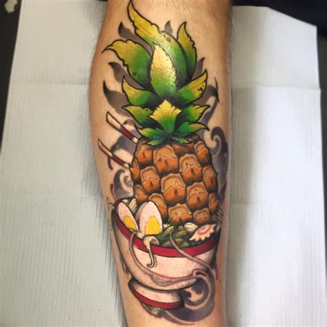 best tattoo shop quebec city pineapple tattoos tattoo insider