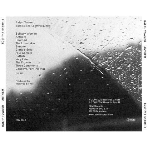 Cd Anthem Best Of Anthem 2000 2007 Cd Dvd Loudness anthem ralf towner mp3 buy tracklist