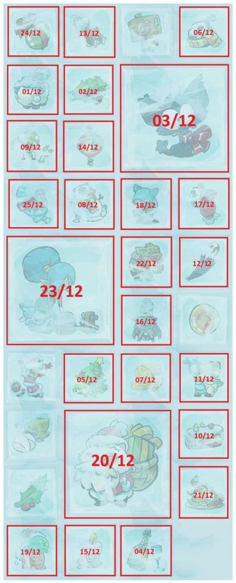 Calendrier Dofus Tutoriel Calendrier De L Avent Dofus 2014 Termin 233