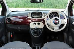 Fiat 500 White Interior New Fiat 500 1 2 Pop 2dr Petrol Convertible For Sale