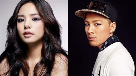nb taeyang and min hyo rin are in a relationship spotted together min hyo rin spotted supporting boyfriend taeyang at