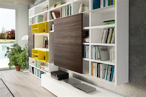libreria mobili design soggiorno mobili libreria a spalla laccato opaco pareti