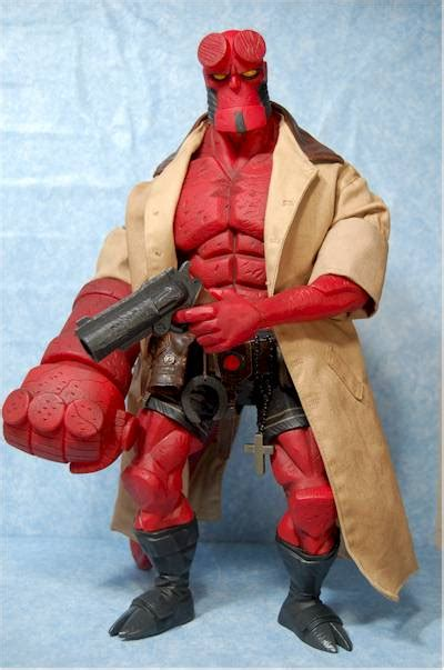 Sale Figure Mezco Hellboy Hell Boy Preview Exclusive Segel review and photos of mezco comic based 18 inch hellboy