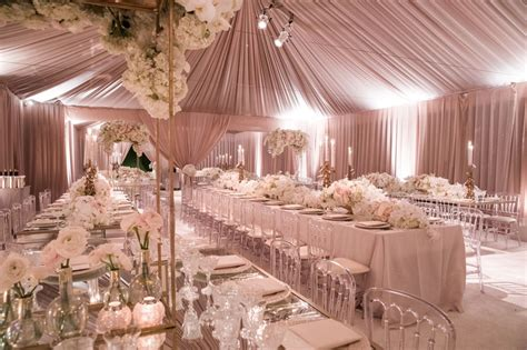 reception d 233 cor photos blush tented wedding reception
