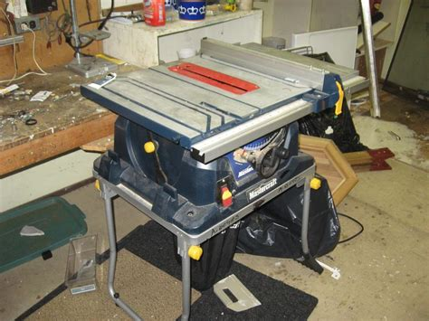 mastercraft 10 bench saw mastercraft 10 inch table saw with dust bag central